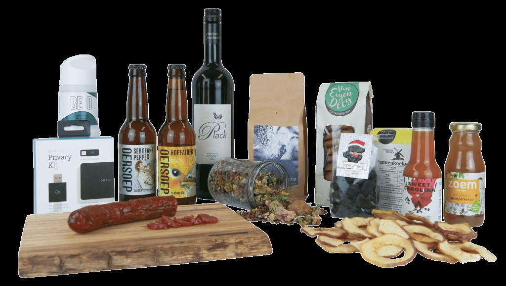Nijmeegs kerstpakket lokale luxe producten